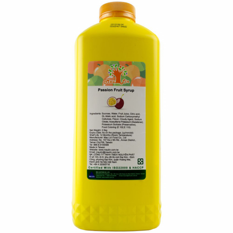 Syrup Maulin Chanh Dây 2.5kg