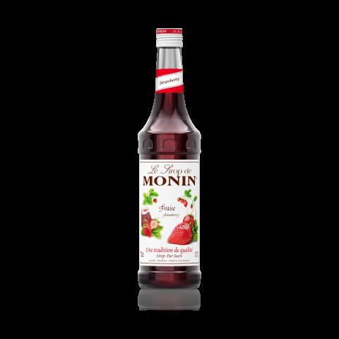 Monin Strwberry Syrup - Monin Dâu