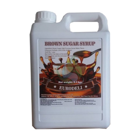 Syrup đường đen Eurodeli 2.5kg