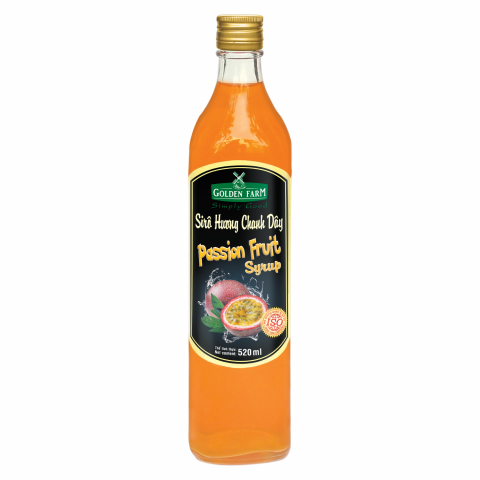 Syrup Golden Farm Chanh Dây 520ml