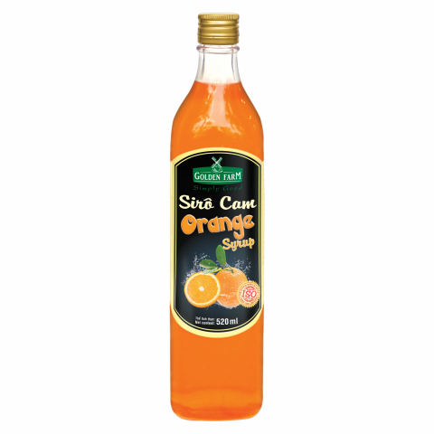 Syrup Golden Farm Cam 520ml