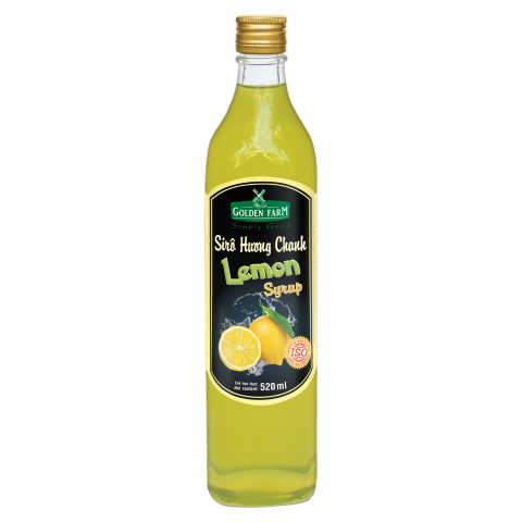 Syrup Golden Farm Chanh 520ml