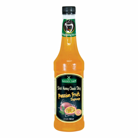 Syrup Golden Farm Chanh Dây 700ml