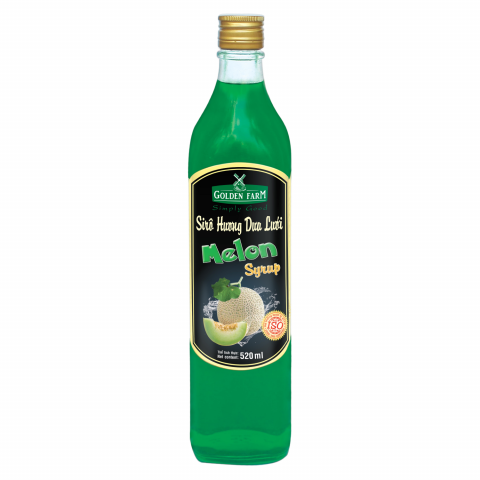 Syrup Golden Farm Dưa Lưới 520ml
